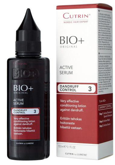 Cutrin Активный Лосьон против перхоти Active Care, 150 мл14229Несмываемый ухаживающий лосьон против перхоти, покраснения и зуда. Чрезвычайно эффективное средство решения серьезных проблем кожи головы, особенно жирной перхоти, подходит для всех типов волос. Активный ингредиент - Пироктон Оламин. Стимулирует кровообращение и восстанавливает липидный баланс кожи головы. Деготь заменен новым североевропейским ингредиентом - экстрактом побегов можжевельника, который успокаивает кожу головы. Повышает эффективность Активного Шампуня и Специального Шампуня.