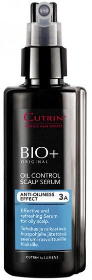 Cutrin Регулирующий лосьон для жирной кожи головы Oil Control Scalp Serum, 150 мл14239Очищает кожу головы от излишков себума. Благодаря комплексу активных ингредиентов регулирует работу сальных желез, восстанавливая оптимальный гидролипидный баланс кожи головы и создавая ощущение свежести.