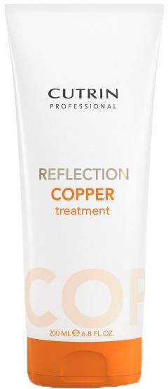 Cutrin Тонирующая маска для поддержания цвета волос Reflection Cooper Treatment, искрящийся медный, 200 мл54233Оттеночная маска - лучший способ сохранить и усилить цвет окрашенных волос в период между посещениями салона. Большое количество красящих пигментов позволит поддерживать насыщенный цвет и блеск окрашенных волос в течение максимально долгого периода времени.