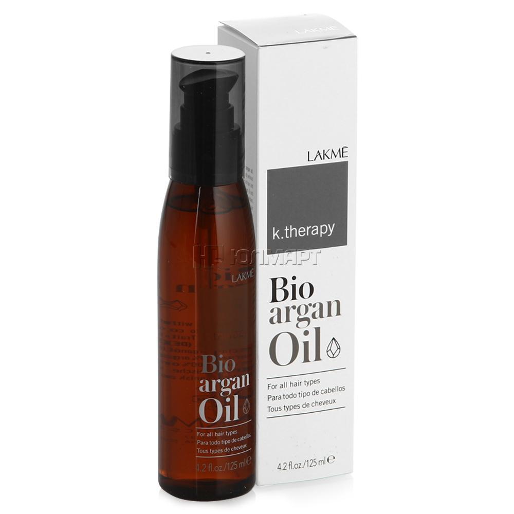 Lakme Аргановое масло для увлажнения и ухода за волосами K.Therapy Bioagran Oil, 125 мл43002Средство представляет собой препарат для ухода за волосами с аргановым маслом 100% органического происхождения. Масло с приятной консистенцией, может ежедневно применяться для придания волосам дополнительной красоты. Bio-Argan Oil подходит для всех типов волос. Масло быстро впитывается в волосы и сразу дает результат: усиленный блеск, шелковистость и дополнительное увлажнение. Не делает волосы тяжелыми. Волосы приобретают натуральный блеск и мягкость. Средство также является антиоксидантом, защищает цвет окрашенных волос. Преимущетва арганового масла: является увлажняющим средством для ежедневного использования и обеспечивает превосходный внешний вид волос.