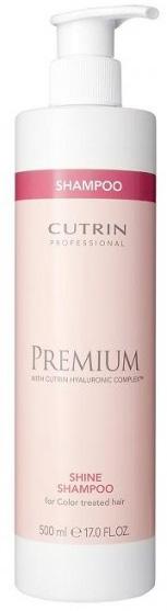 Cutrin Шампунь Премиум-Блеск для окрашенных волос Premium Shampoo, 500 млCUC05-12901Cutrin Premium Shampoo Шампунь Премиум-Блеск для окрашенных волос косметическое доступное инновационное средство нового поколения. У специалисты Cutrin получилось создать уникальное практичное средство для ухода и одновременного восстановления слабых или незначительно поврежденных локонов. Шампунь разработан для окрашенных локонов. Благодаря инновационным компонентам формулы средство способно обеспечивать сохранность цвета волос, параллельно выполняя задачи по питанию и лечению проблемных волосяных участков. Более того, шампунь имеет достаточно положительных свойств, чтобы восстановить и болезненные зоны кожи головы. Систематическое применение безвредного натурального оптимизирует состояние кожи и укрепит волосяные луковицы. Шампунь состоит из нескольких полезных и экологических продуктов. Арктическая родиола, добавки янтаря отвечают за укрепление структурных составляющих волоса. Стебли волосков становятся прочными, также увеличивается показатель эластичности появляется изящный...