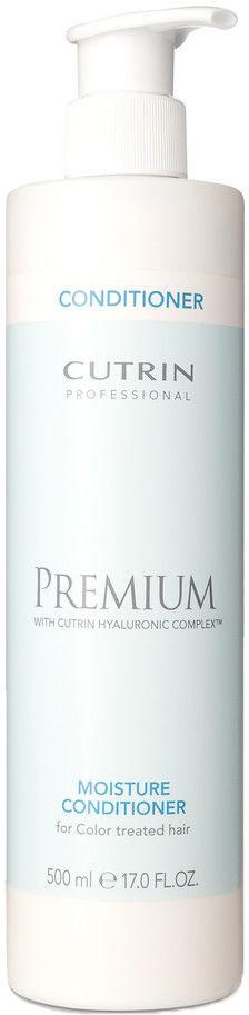 Cutrin Бальзам-кондиционер Премиум-Увлажнение для окрашенных волос Premium Moisture Conditioner, 500 млCUC05-12907Cutrin Premium Moisture Conditioner Бальзам-кондиционер Премиум-Увлажнение для окрашенных волос обладает уникальной особенностью, средство как бы проникает в структуру волоса изнутри, наполняя и насыщая его питательными элементами. Благодаря этому волосы приобретают восхитительный объем, который становится главной составляющей великолепной прически. Бальзам способен создавать незаметную пленку, которая окружает каждый волосок. Она выполняет защитную функцию, оберегая чувствительные волосы от УФ-излучения и других губительных факторов. Состав этого уникального средства преображения поистине поражает. Специалисты компании добавили гиалуроновую кислоту, придающую молодость и эластичность локонам, протеиновые добавки пшеницы и шелка, отвечающие за обеспечение питательными веществами. Обладая такими характеристиками, бальзам способен выполнить реструктуризацию поврежденных химически волос, восстановив первоначальную структуру волоска. Так средство легко справляется с задачей по лечению...