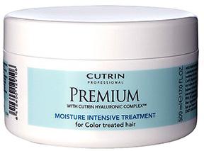 Cutrin Интенсивная маска Премиум-Увлажнение для окрашенных волос Premium Moisture Intensive Treatment, 500 млCUC05-12910Маска Cutrin Premium Moisture является интенсивным увлажняющим и восстанавливающим средством для окрашенных волос. Активная формула продукта содержит комплекс Cutrin Hyaluronic Complex™, имеющий в основе гиалуроновую кислоту - компонент, нормализующий гидробаланс структуры и придающий волосам силу и сияние. В составе маске присутствует экстракт арктической родиолы розовой для укрепления и повышения эластичности волос, пшеничный протеин для защиты от внешних воздействий и УФ-фильтр для поддержания насыщенности оттенка окрашенных волос. Применять 1-2 раза в неделю с базовыми средствами по уходу за окрашенными волосами серии Премиум-увлажнение. Результат после первого применения.