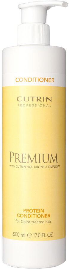 Cutrin Бальзам-кондиционер Премиум-Восстановление для окрашенных волос, Premium Protein Conditioner 500 млCUC05-12914Формула бальзама Cutrin Premium Protein conditioner насыщена протеинами, которые помогают интенсивно восстановить окрашенные волосы, получившие повреждения структуры в ходе процедуры. Инновационный комплекс Cutrin Hyaluronic Complex™, содержащийся в составе средства, насыщен гиалуроновой кислотой, экстрактом арктической родиолы розовой, гидролизованным кератином и протеином пшеницы. Эти вещества способствуют укреплению волос, приданию им тонуса и эластичности, дают ухаживающий эффект. Кремовый бальзам Cutrin Premium Protein кондиционирует волосы, делает их послушными и обеспечивает избавление от статического электричества. УФ-фильтры, присутствующие в составе, поддерживают цвет окрашенных волос, сохраняя яркость оттенка и препятствуя его потускнению.