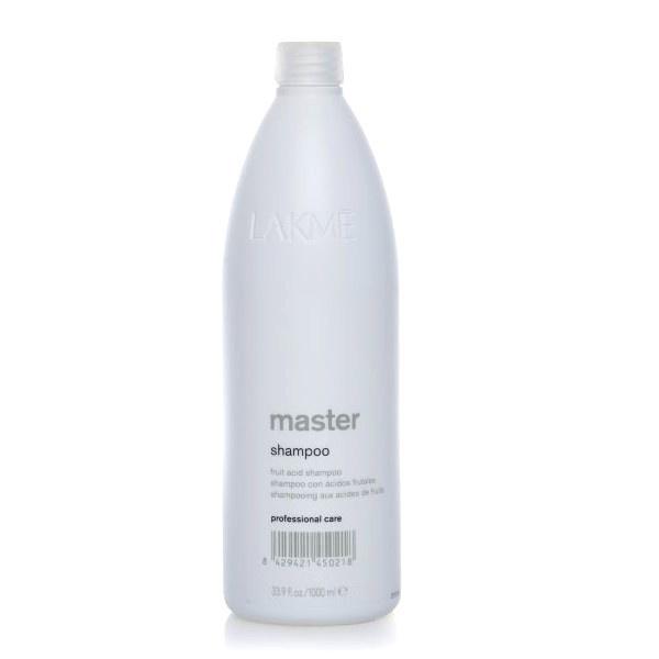 Lakme Шампунь для волос Shampoo, 1000 мл45021Предназначен для предварительной подготовки волос к химическим процедурам или нейтрализации действий после химического выпрямления/завивки волос или применения обесцвечивающей пудры. Содержит фруктовые кислоты, которые предохраняют и закрывают чешуйки волос, оставляя волосы мягкими, блестящими и полностью увлажненными. Экстракт водорослей защищает и восстанавливает pH-баланс кожи головы после химического воздействия. НЕ использовать после окрашивания крем-красками Collage и Gloss. Только для профессионального применения в салоне.