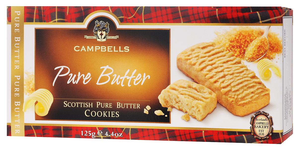 Campbells Pure Butter печенье песочное, 125 г ( 1520080 )