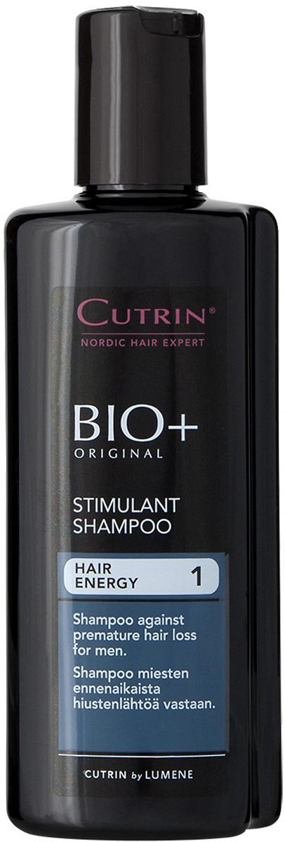 Cutrin Стимулирующий шампунь для мужчин BIO+ Stimulant Shampoo, 200 млCutrin14227Препятствует преждевременному выпадению волос у мужчин и стимулирует рост новых. Новый активный ингредиент ProcapilTM защищает волосяную луковицу, стимулирует метаболизм клеток, улучшает питание волосяных фолликулов. Ксилитол, лактитол и пальмовый экстракт нормализуют работу сальных желез и улучшают состояние кожи головы. Для получения наилучших результатов, необходимо использовать в комплексе со Стимулирующим лосьоном для мужчин.