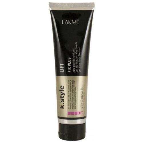 Lakme Гель для укладки волос экстра сильной фиксации Lift Xtra Strong Gel, 150 мл46132Гель для укладки волос экстра сильной фиксации Lakme K Style Lift Длительная фиксация. Легко смывается. Подходит для всех типов волос. Устойчив к влажности. Обладает термозащитными свойствами. Древесно - травяной аромат. Степень фиксации - 4