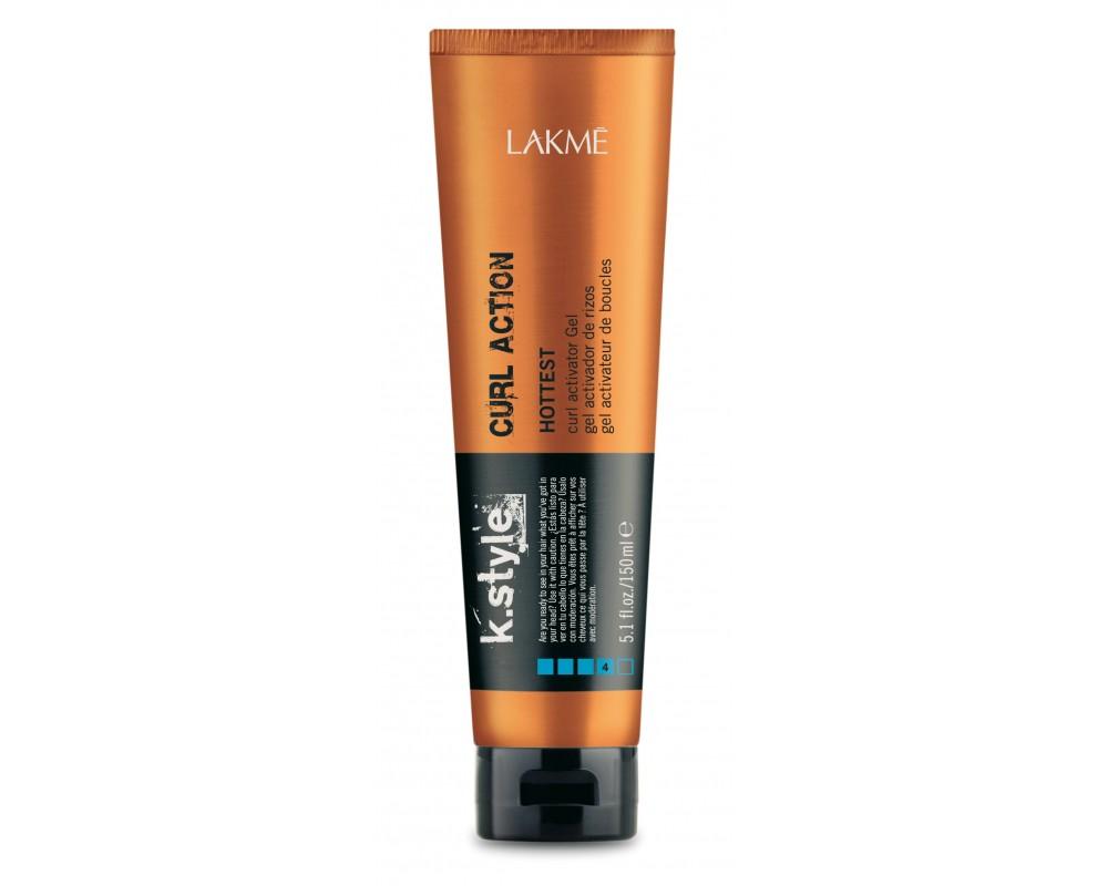 Lakme Гель-текстура для вьющихся и кудрявых волос Curl Action Gel, 150 мл46512Гель-текстура для вьющихся и кудрявых волос Lakme K Style Curl Action Сильная фиксация. Группирует локоны. Увлажняет волосы. Обладает эффектом «памяти», который обеспечивает возможность восстановить укладку на следующий день при помощи влажных рук. Защита волос при термическом воздействии. Устойчив к влажности. Сладковатый аромат с нотками малины и ежевики. Степень фиксации - 4