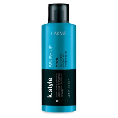 Lakme Сухой шампунь Brush Up, 200 мл46653Сухой шампунь от Lakme позволит освежить прическу между мытьем, подчеркивая текстуру. Шампунь обладает низкой степенью фиксации, не склеивая волосы, но придавая необходимый объем. Подходит для всех типов волос. Защищает от УФ лучей, действует как термозащита и бережет цвет волос. Устойчив к влажности. Обладает легким ароматом зеленого чая.