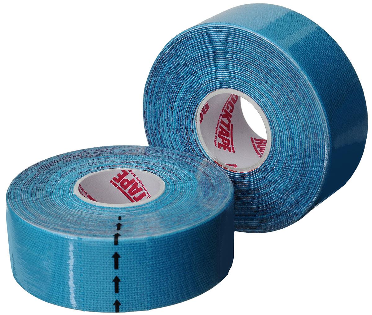 Кинезиотейп Rocktape Digit, цвет: голубой, 2,5 x 500 см, 2 штRCT100-BL-DTКинезиотейп Rocktape Digit, выполненный из хлопка и нейлона, предназначен для снятия отеков и рассасывания гематом. Уменьшает мышечную усталость и способствует притоку крови для более быстрого восстановления. Изделие имеет плотную волнообразную структуру ткани, водостойкий. Кинезиотейп носится до 5 дней, не теряя своих свойств. 180-190% эластичности.