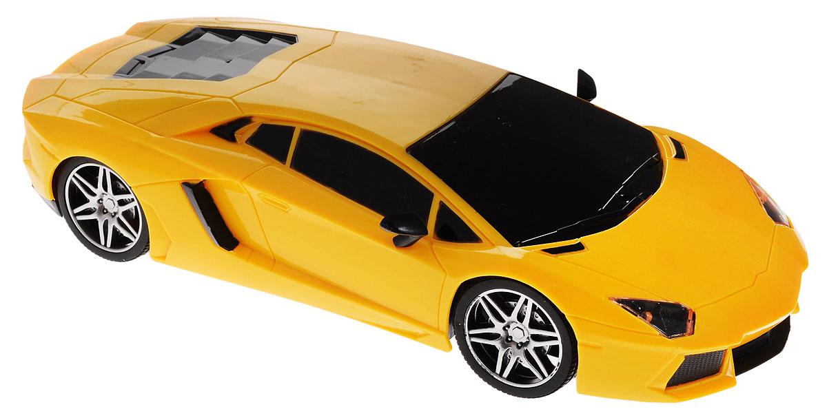 Junfa Toys Машинка инерционная Racing Bicycle цвет желтый302-1AИнерционная машинка Junfa Toys Racing Bicycle, выполненная из безопасного пластика, станет любимой игрушкой вашего ребенка. Игрушка представляет собой уменьшенную копию гоночного автомобиля. Машинка обладает световыми и звуковыми эффектами. Игрушка оснащена инерционным ходом. Необходимо просто отвести ее назад, затем отпустить - и она быстро поедет вперед. Прорезиненные колеса обеспечивают надежное сцепление с любой гладкой поверхностью. Ваш ребенок будет увлеченно играть с этой машинкой, придумывая различные истории. Порадуйте его таким замечательным подарком! Рекомендуется докупить 3 батарейки типа LR44 (AG13) (товар комплектуется демонстрационными).