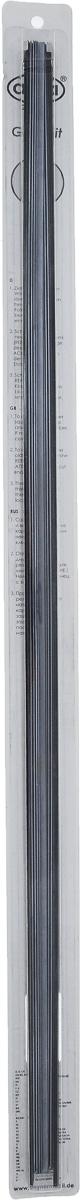 Резинка для щеток стеклоочистителей Alca, профильелочка, 70 см, 2 шт132000Резинки Alca с профилем елочка имеют спинное усиление и стальной замок. Можно укорачивать. Изделия готовы к использованию и отличаются высоким качеством. Длина резинки: 700 мм/28. Количество: 2 шт.