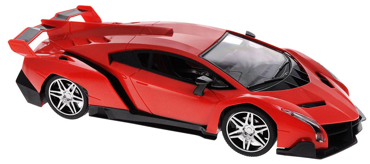 Junfa Toys Машинка инерционная Racing Bicycle цвет красный