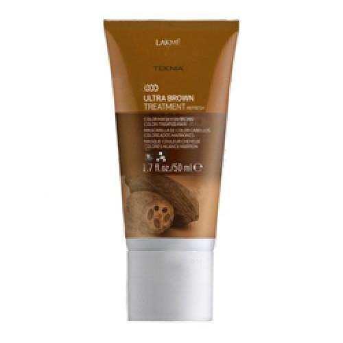 Lakme Средство для поддержания оттенка окрашенных волос Коричневый Treatment, 50 мл47053Благодаря входящим в состав экстракту какао и керамидному комплексу средство восстанавливает волокно волоса изнутри и защищает волосы , окрашенные в коричневые оттенки, от потери цвета, насыщает их блеском и продлевает интенсивность оттенков. Масло кокоса очищает и смягчает волосы, защищает кутикулы от химического воздействия. Витамин А и масло монои таитянской защищают волосы от внешнего воздействия, увлажняют и восстанавливают все типы волос, делая их блестящими и шелковистыми. Средство для поддержания оттенка окрашенных волос «Коричневый» Lakme Teknia Ultra Brown Treatment содержит WAA™ – комплекс растительных аминокислот, ухаживающий за волосами и оказывающий глубокое воздействие изнутри.