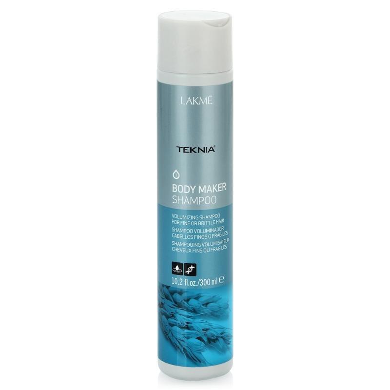 Lakme Шампунь для волос, придающий объем Shampoo, 300 мл47612Обогащенная пшеничными протеинами формула шампуня придает объем волосам, не утяжеляя их. Укрепляет структуру волос, питает, повышает прочность и утолщает волосы. Удаляет статический электрический заряд. Содержит WAA™ – комплекс растительных аминокислот, ухаживающий за волосами и оказывающий глубокое воздействие изнутри. Придает интенсивный блеск и легкость.