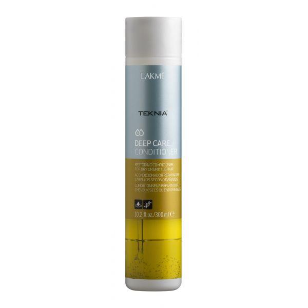 Lakme Кондиционер восстанавливающий для сухих или поврежденных волос Conditioner, 300 мл47722Кондиционер восстанавливающий для сухих или поврежденных волос Lakme Teknia Deep Care Conditioner cодержит WAA™ – комплекс растительных аминокислот, ухаживающий за волосами и оказывающий глубокое воздействие изнутри. Катионный кондиционирующий комплекс распутывает и делает волосы мягкими и блестящими. Мягко действующая формула восстанавливает натуральные свойства волос.