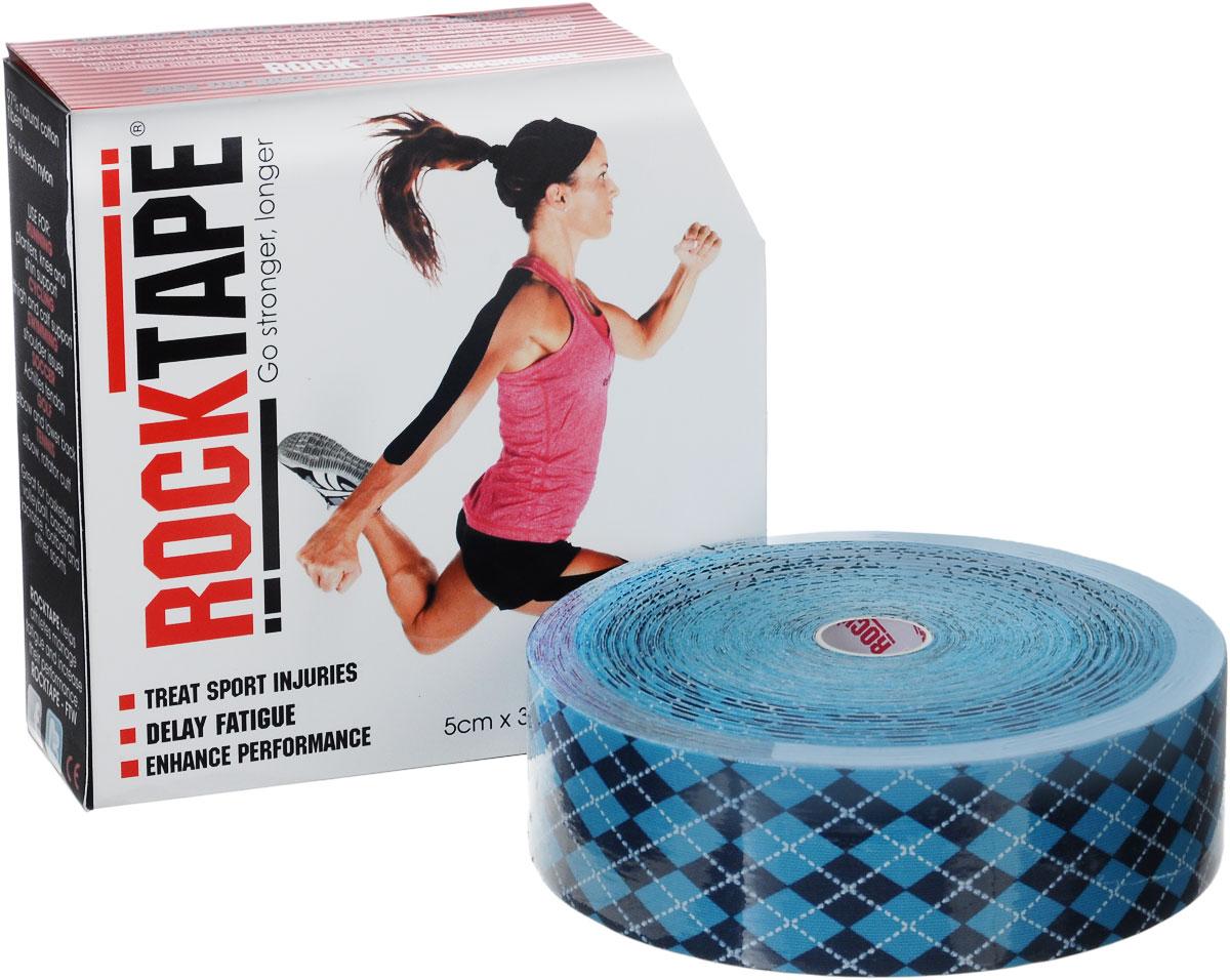 Кинезиотейп Rocktape Bulk, цвет: голубой, темно-синий, белый, 5 см х 32 мRCT100-ARG-LGКинезиотейп Rocktape Bulk, выполненный из хлопка и нейлона, предназначен для снятия отеков и рассасывания гематом. Уменьшает мышечную усталость и способствует притоку крови для более быстрого восстановления. Изделие имеет плотную волнообразную структуру ткани. Не содержит латекса и цинка, водостойкий.