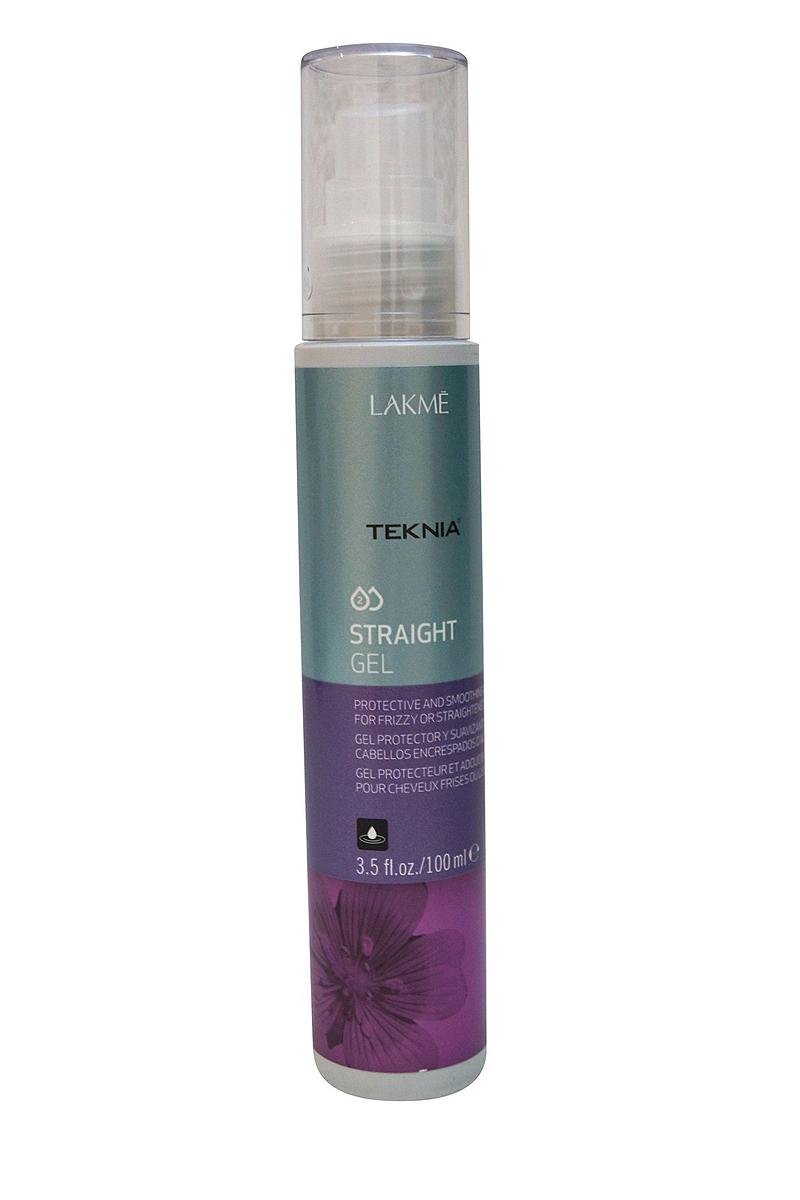Lakme Гель для придания гладкости непослушным или химически выпрямленным волосам Gel, 100 мл