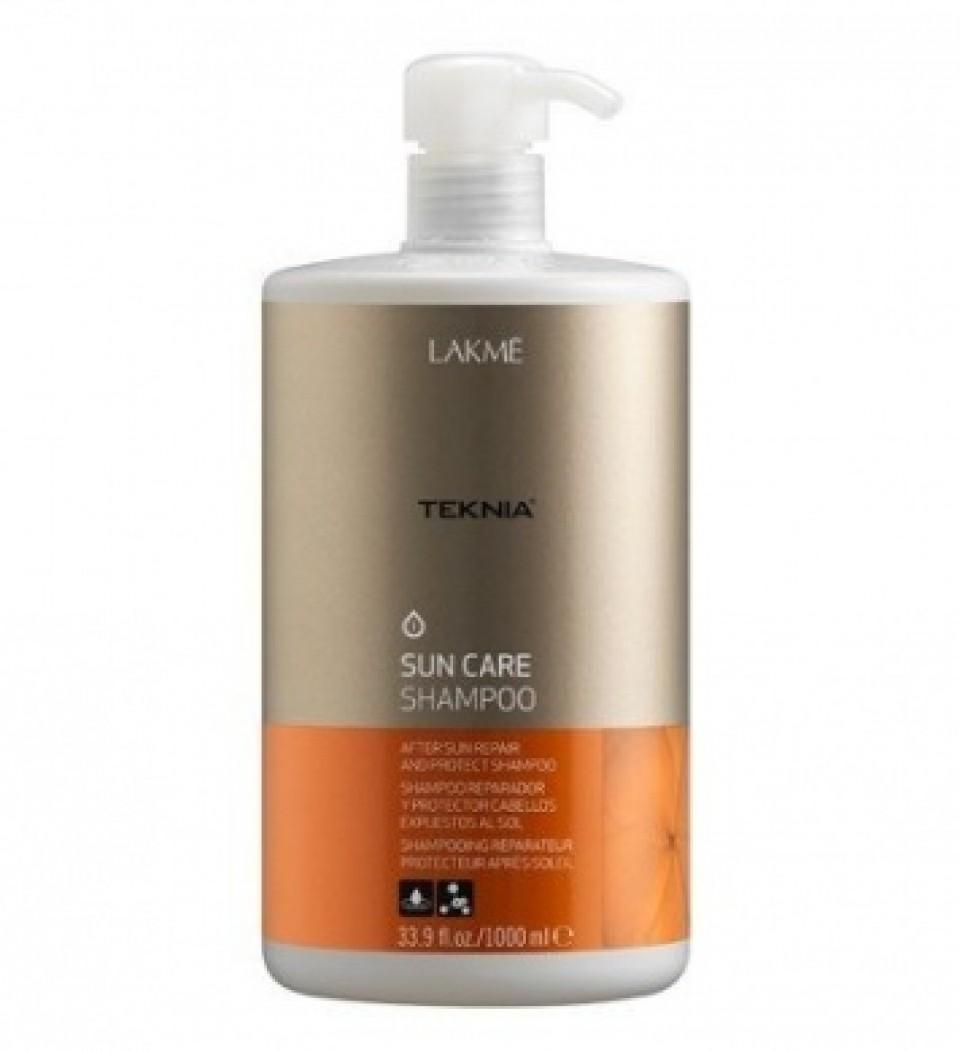 Lakme Шампунь восстанавливающий для волос после пребывания на солнце Shampoo, 1000 мл47911Формула обогащена витамином Е, обладающим антиоксидантными свойствами, защищающим липиды и протеины волоса от вредного воздействия солнца. Масло монои таитянской восстанавливает сухие и поврежденные волосы, придает им блеск, мягкость и делает их послушными. Обладает интенсивным увлажняющим воздействием, которое предотвращает потерю влаги тканями волоса. Удаляет остатки хлора и морской воды. Результат заметен немедленно и сохраняется длительное время. Содержит WAA™ – комплекс растительных аминокислот, ухаживающий за волосами и оказывающий глубокое воздействие изнутри.