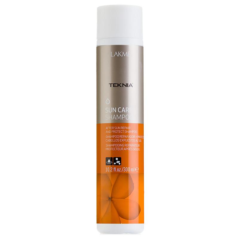 Lakme Шампунь восстанавливающий для волос после пребывания на солнце Shampoo, 300 мл47912Формула обогащена витамином Е, обладающим антиоксидантными свойствами, защищающим липиды и протеины волоса от вредного воздействия солнца. Масло монои таитянской восстанавливает сухие и поврежденные волосы, придает им блеск, мягкость и делает их послушными. Обладает интенсивным увлажняющим воздействием, которое предотвращает потерю влаги тканями волоса. Удаляет остатки хлора и морской воды. Результат заметен немедленно и сохраняется длительное время. Содержит WAA™ – комплекс растительных аминокислот, ухаживающий за волосами и оказывающий глубокое воздействие изнутри.