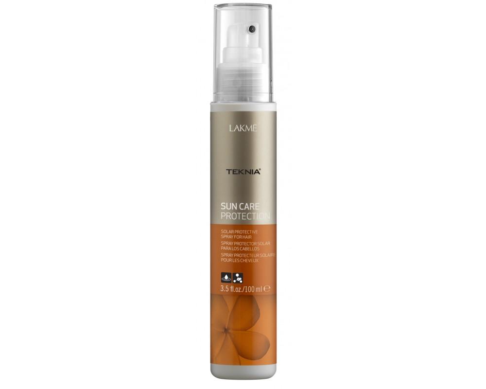 Lakme Спрей для волос солнцезащитный Protection Spray, 100 мл47923Обеспечивает мгновенную защиту волос от солнца, воздействия хлора и морской воды. Масла кокоса и монои таитянской увлажняют, питают и придают волосам мягкость и естественный блеск. Содержит WAA™ – комплекс растительных аминокислот, ухаживающий за волосами и оказывающий глубокое воздействие изнутри.