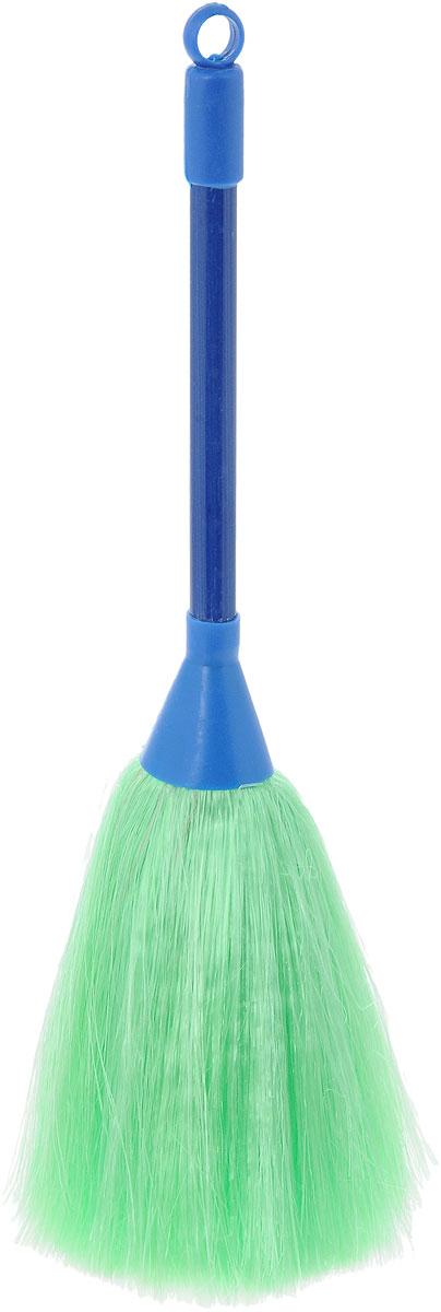 Щетка для смахивания пыли Burstenmann, цвет: синий, зеленый, 27 см0525/0000Щетка Burstenmann предназначена для смахивания пыли с различных поверхностей. Ручка выполнена из прочного пластика, а рабочая часть из синтетического материала. Для дополнительного удобства щетка снабжена специальной петелькой, с помощью которой ее можно разместить в любом месте. Общая длина щетки: 28 см. Длина рабочей поверхности: 11 см.