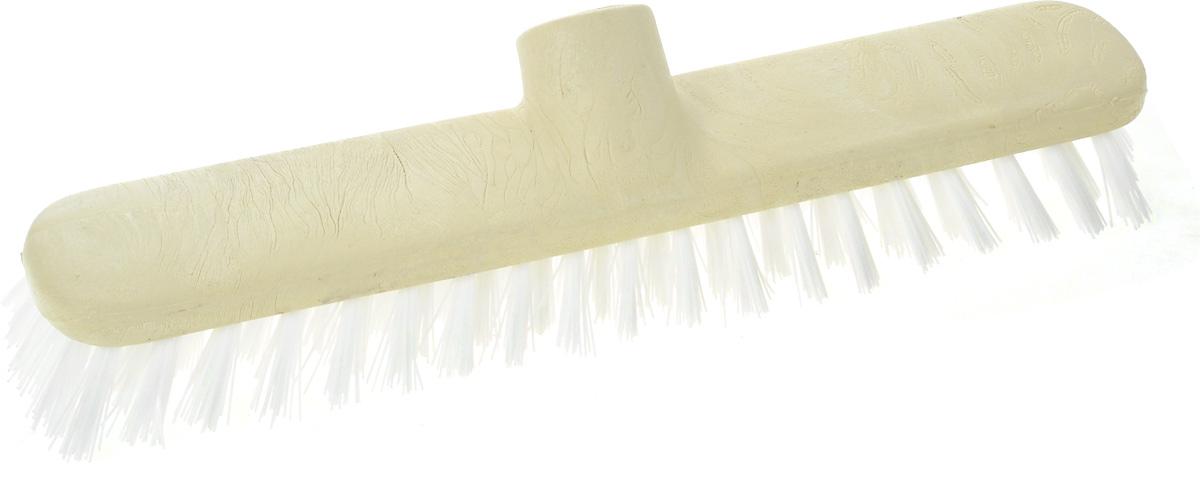 Щетка-насадка Apex Basic для чиски ковров, цвет: бежевый10543-AЩетка Apex Basic, представляет собой сменную насадку для швабры, предназначенную для чистки ковров, ковровых покрытий. Упругие волоски щетки-насадки не оставят следа от грязи, мелкой пыли, шерсти домашних животных. Оригинальная, современная, удобная щетка, которую можно подобрать к любому интерьеру, сделает уборку эффективнее и приятнее. Размер щетки: 26 см х 4,5 см. Длина ворса: 3 см. Материал: пластик, полихлорвинил.