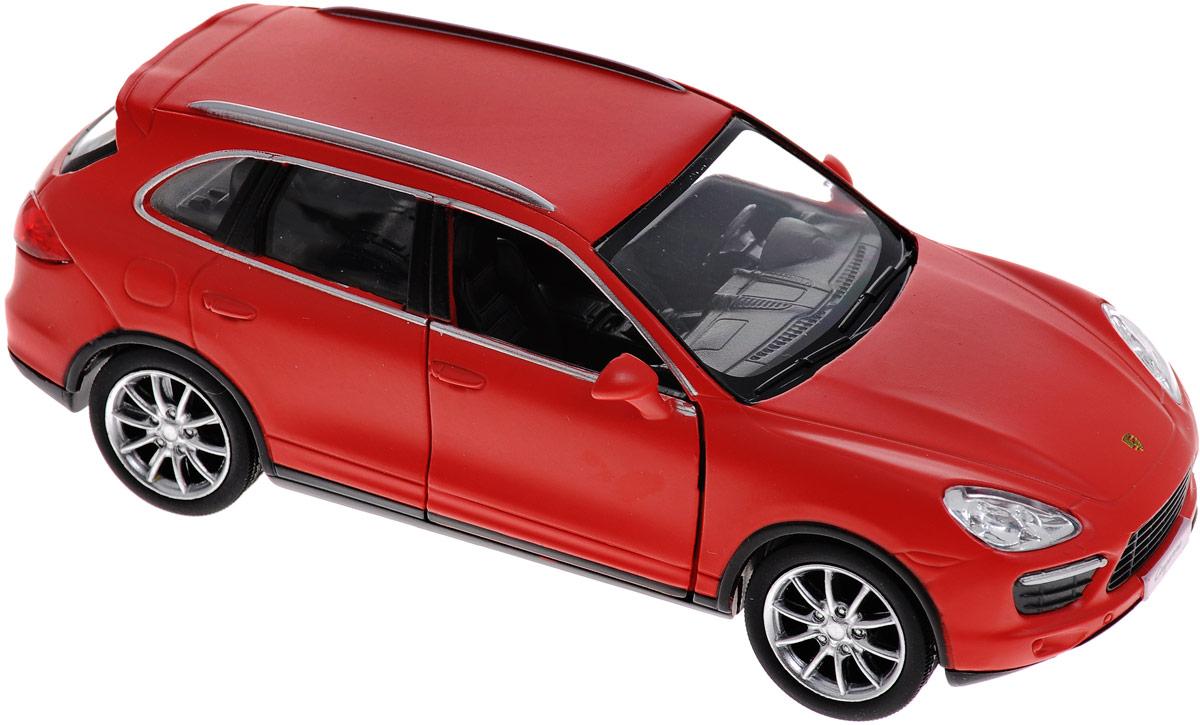 Uni-Fortune Toys Модель автомобиля Porsche Cayenne Turbo554014M(B)Модель автомобиля Uni-Fortune Toys Porsche Cayenne Turbo будет отличным подарком как ребенку, так и взрослому коллекционеру. Благодаря броской внешности, а также великолепной точности, с которой создатели этой модели масштабом 1:32 передали внешний вид настоящего автомобиля, машинка станет подлинным украшением любой коллекции авто. Модель будет долго служить своему владельцу благодаря металлическому корпусу с элементами из пластика. Передние двери машины открываются. Машинка оснащена инерционным механизмом. Необходимо отвести ее назад, затем отпустить - и она быстро поедет вперед. Шины обеспечивают отличное сцепление с любой поверхностью пола. Модель автомобиля Uni-Fortune Porsche Cayenne Turbo обязательно понравится вашему ребенку и станет достойным экспонатом любой коллекции.