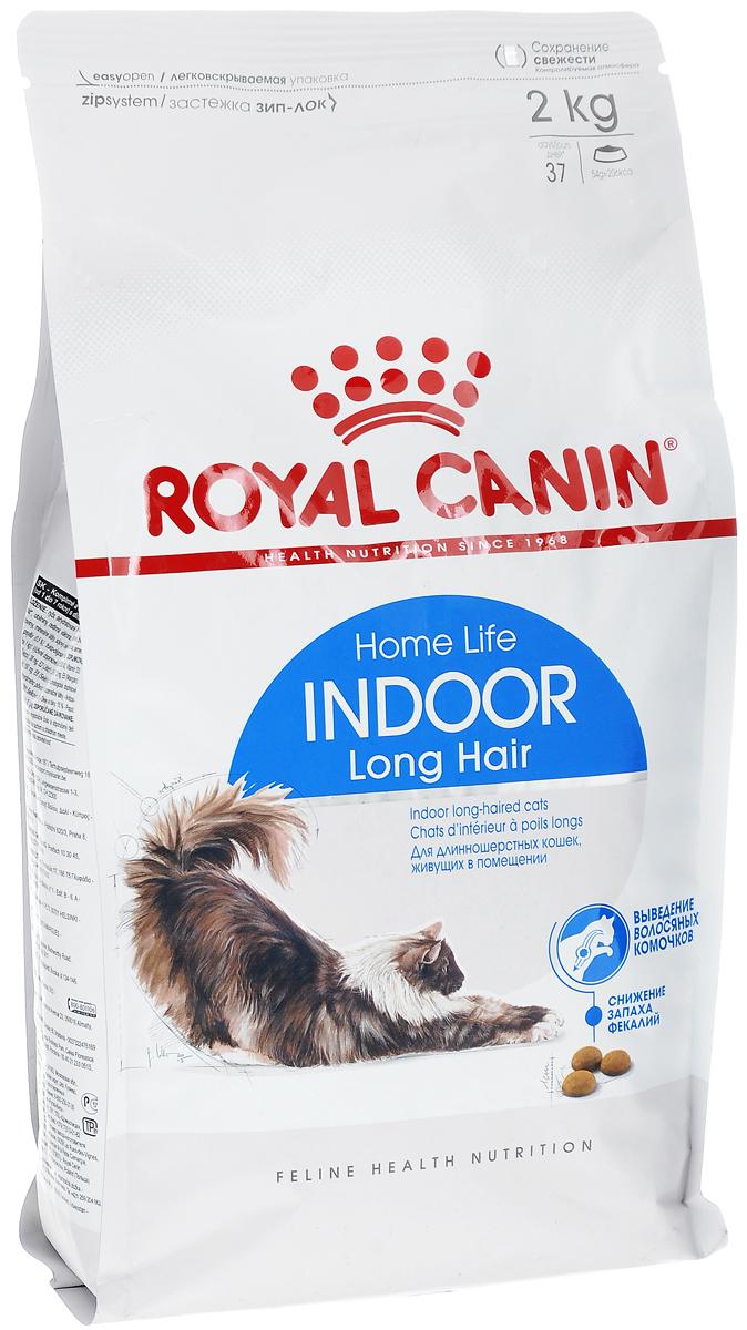 Корм сухой Royal Canin Indoor Long Hair, для длинношерстных кошек в возрасте от 1 до 7 лет, живущих в помещении, 2 кг492020-492320Сухой корм Royal Canin - это полнорационный сбалансированный корм для взрослых длинношерстных кошек (в возрасте от 1 года до 7 лет), живущих в помещении. Образ жизни кошки, постоянно живущей в помещении, и ее длинная шерсть - факторы, обуславливающие необходимость специального питания. У длинношерстных кошек, постоянно находящихся в помещении, в желудке скапливается большое количество волосяных комочков. Домашний образ жизни увеличивает риск появления избыточного веса у кошек и замедляет транзит пищи в кишечнике вследствие нарушений моторики пищеварительного тракта. Уникальный комплекс питательных веществ в корме способствует обновлению и сохранению красоты длинной шерсти кошек. Состав: дегидратированное мясо домашней птицы, кукуруза, изолят растительного белка, пшеница, рис, животные жиры, растительная клетчатка, гидролизат белков животного происхождения, минеральные вещества, соевое масло, свекольный жом, рыбий жир, дрожжи, фруктоолигосахариды,...