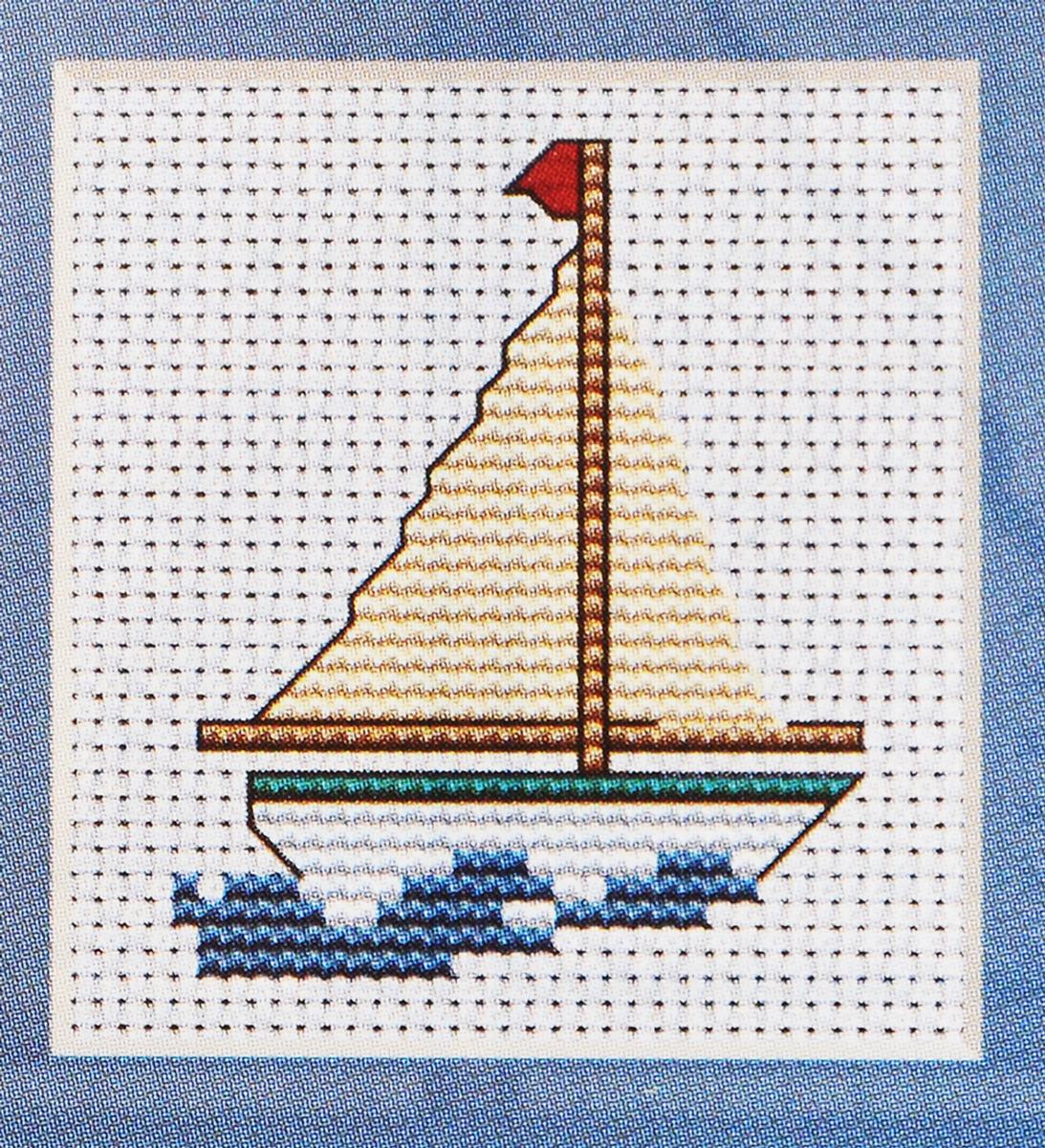 Набор для вышивания крестом Luca-S Тортик, 7,5 х 7,5 смB009Набор Luca-S Тортик - это мини-набор для вышивания забавной картинки. Отличный вариант для начинающих рукодельниц. Вышивка выполняется в технике счетный крест. Вышивание с небольшими наборами позволит вам освоить азы вышивки крестом и впоследствии приступить к выполнению более сложных работ. В набор входит: - Aida 14/100 Zweigart (белого цвета), - мулине Anchor (8 цветов), - цветная символьная схема с инструкцией в картинках, - игла.