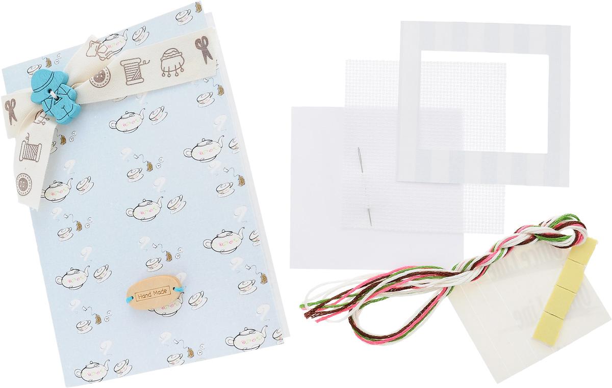 Набор для изготовления открытки Luca-S, 14,5 х 10 см. F-3F-3Набор Luca-S поможет создать своими руками красивую открытку с элементом вышивки. Этот набор отвлечет вас от повседневных забот и превратится в увлекательное занятие с вашим ребенком! Работа, сделанная своими руками, будет отличным подарком для друзей и близких! Набор с частичной сборкой содержит все необходимые материалы для создание открытки. В набор входит: - паспарту, - картонная рамка для готовой вышивки (2 шт), - двухсторонний скотч, - канва Aida Zweigart №16 (белого цвета), - мулине Anchor - 100% мерсеризованный хлопок (4 цвета), - черно-белая символьная схема, - инструкция на русском языке, - игла. Размер готовой открытки: 14,5 х 10 см. Размер канвы: 7 х 7,4 см.