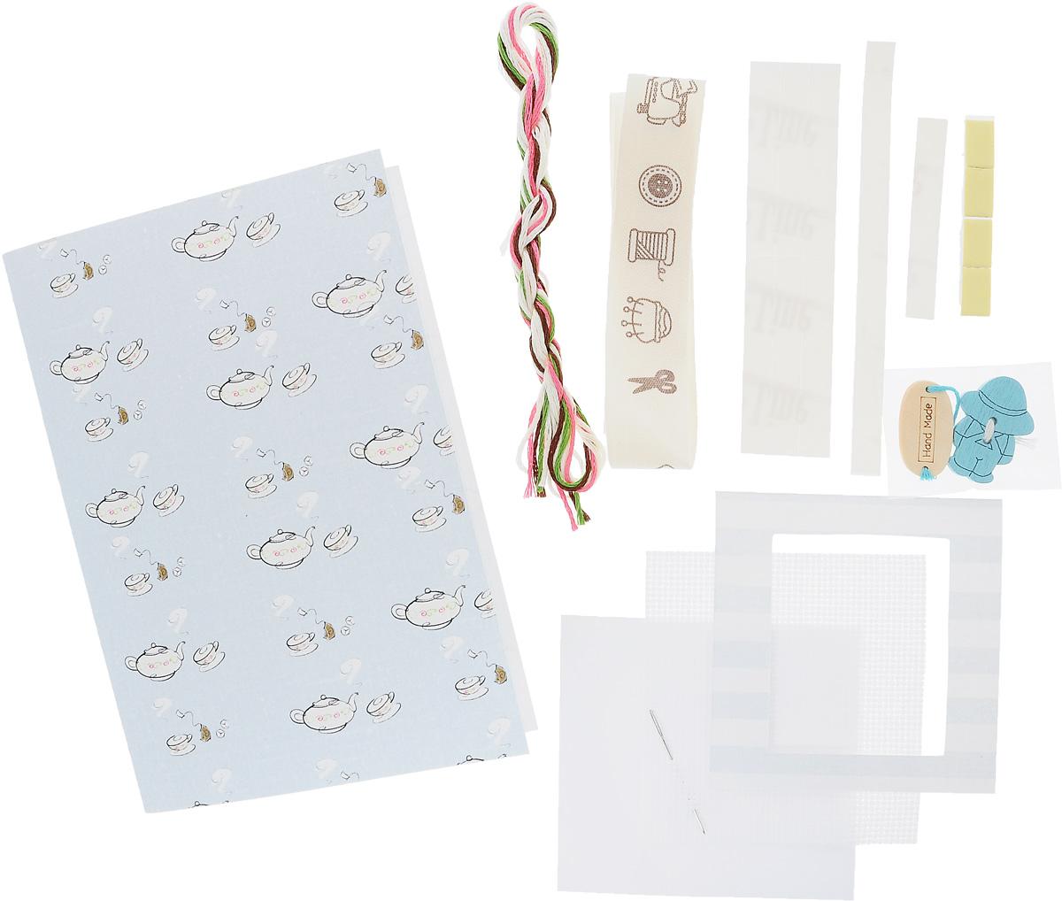 Набор для изготовления открытки Luca-S, 14,5 х 10 см. (S)F-3(S)F-3Набор Luca-S поможет создать своими руками красивую открытку с элементом вышивки. Этот набор отвлечет вас от повседневных забот и превратится в увлекательное занятие с вашим ребенком! Работа, сделанная своими руками, будет отличным подарком для друзей и близких! Набор с полной сборкой содержит все необходимые материалы для создание открытки. В набор входит: - паспарту, - деревянные пришивные украшения (2 шт), - декоративная лента, - двухсторонний скотч, - картонная рамка для вышивки, - канва Aida Zweigart №16 (белого цвета), - мулине Anchor - 100% мерсеризованный хлопок (4 цвета), - черно-белая символьная схема, - инструкция на русском языке, - игла. Размер готовой открытки: 14,5 х 10 см. Размер канвы: 7,3 х 6,8 см.