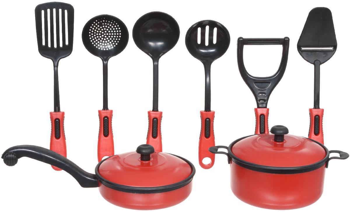ABtoys Игрушечный кухонный набор 8 предметов