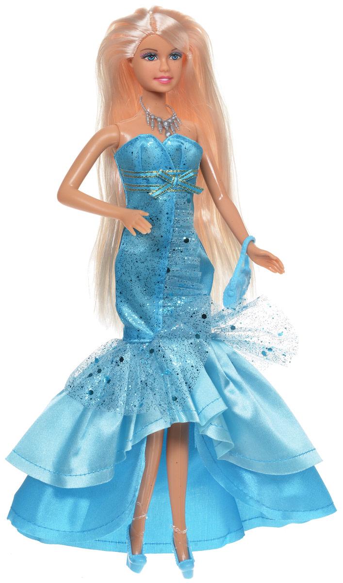 Defa Кукла Lucy цвет платья голубой 8240d8240dКукла Defa Lucy обязательно понравится любой девочке и позволит ей погрузиться в сказочный мир волшебства. Очаровательная куколка одета в голубое платье, украшенное блестками, на ногах у нее - туфли в цвет платья. Вашей дочурке непременно понравится расчесывать и заплетать длинные белокурые волосы куклы. Дополнением к образу служат ожерелье и сумочка. Руки, ноги и голова куклы подвижны, благодаря чему ей можно придавать различные позы. Благодаря играм с куклой, ваша малышка сможет развить фантазию и любознательность, овладеть навыками общения и научиться ответственности.