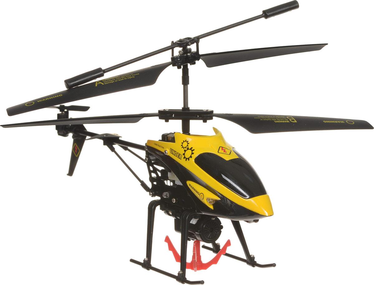 ABtoys Вертолет на инфракрасном управлении UnderC-00104(V388)Современные мальчишки знают толк в ведении боевых действий. Однако, родители могут помочь направить игру в более серьезное русло. Вертолет на инфракрасном управлении ABtoys Under оснащен встроенным гироскопом и 3,5- канальной системой управления. Благодаря этому модель стабильна в управлении. Такие вертолеты относятся к усовершенствованным радиоуправляемым игрушкам, пилотировать которые могут даже дети. Вертолет имеет крючок для корректировки взлетов и падений или для перевозки небольших предметов. Вертолет можно контролировать в трех направлениях - вверх и вниз, вперед и назад, а также повернуть по часовой стрелке или против часовой стрелки, вращать его вокруг своей оси, и, конечно же, взлетать и приземляться. Пульт управления удобно фиксируется в руках. Имеются световые эффекты. Игрушка способствует развитию тактильных навыков, зрительной координации и мелкой моторики рук. Вертолет работает от встроенного аккумулятора. Для работы пульта...