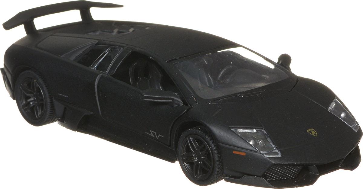 RMZ City Модель автомобиля Lamborghini Murcielago LP670-4 SV цвет черный554997M_черныйМодель автомобиля RMZ City Lamborghini Murcielago LP670-4 SV будет отличным подарком как ребенку, так и взрослому коллекционеру. Благодаря броской внешности, а также великолепной точности, с которой создатели этой модели масштабом 1:36 передали внешний вид настоящего автомобиля, машинка станет подлинным украшением любой коллекции авто. Модель будет долго служить своему владельцу благодаря металлическому корпусу с элементами из пластика. Двери машины поднимаются. Прорезиненные колеса обеспечивают отличное сцепление с любой поверхностью пола. Машинка оснащена инерционным механизмом. Достаточно немного отвести машинку назад, а затем отпустить, и она быстро поедет вперед. Модель автомобиля RMZ City Lamborghini Murcielago LP670-4 SV обязательно понравится вашему ребенку и станет достойным экспонатом любой коллекции.