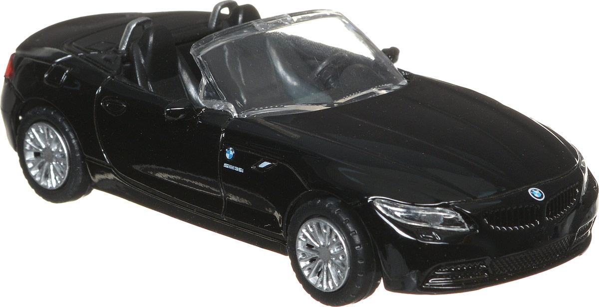 Rastar Модель автомобиля BMW Z4 цвет черный41400Модель автомобиля Rastar BMW Z4 будет отличным подарком как ребенку, так и взрослому коллекционеру. Благодаря броской внешности, а также великолепной точности, с которой создатели этой модели масштабом 1:43 передали внешний вид настоящего автомобиля, машинка станет подлинным украшением любой коллекции авто. Модель будет долго служить своему владельцу благодаря металлическому корпусу с элементами из пластика. Колеса машинки свободно вращаются. Модель автомобиля Rastar BMW Z4 обязательно понравится вашему ребенку и станет достойным экспонатом любой коллекции.