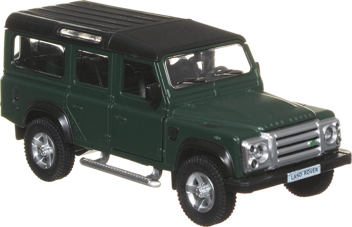 RMZ City Модель автомобиля Land Rover Defender554006M(C)Модель автомобиля RMZ City Land Rover Defender будет отличным подарком как ребенку, так и взрослому коллекционеру. Благодаря броской внешности, а также великолепной точности, с которой создатели этой модели масштабом 1:35 передали внешний вид настоящего автомобиля, машинка станет подлинным украшением любой коллекции авто. Модель будет долго служить своему владельцу благодаря металлическому корпусу с элементами из пластика. Передние двери машины открываются. Прорезиненные колеса обеспечивают отличное сцепление с любой поверхностью пола. Машинка оснащена инерционным механизмом. Достаточно немного отвести машинку назад, а затем отпустить, и она быстро поедет вперед. Модель автомобиля RMZ City Land Rover Defender обязательно понравится вашему ребенку и станет достойным экспонатом любой коллекции.