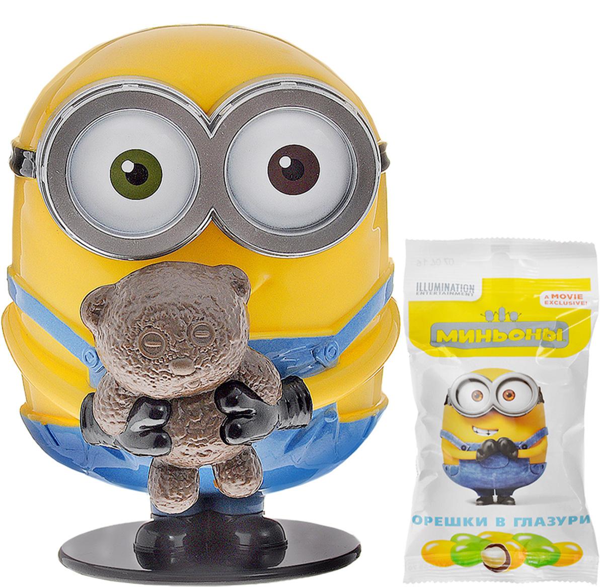 Minions арахис глазированный в игрушке-копилке, 45 г