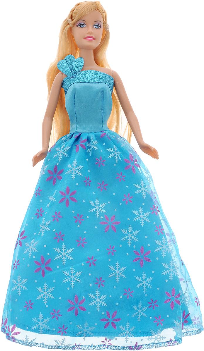 Defa Кукла Lucy Принцесса цвет платья голубой