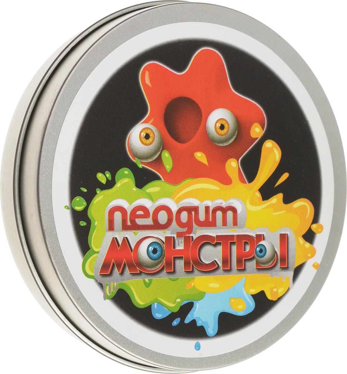 Neogum Пластилин Монстр цвет оранжевыйNM0005Пластилин Neogum Монстр отличается невероятной пластичностью, может отпрыгивать от пола и растекаться по ровной поверхности. Пластилин не пачкается, не пристает к коже и предметам. В комплекте с пластилином идут пластиковые глазки, которые превратят продукт вашей фантазии в милого и совсем нестрашного монстрика! Игра с пластилином Neogum помогает снять раздражение и агрессию, развить мелкую моторику и творческое мышление, а также укрепить мышцы кистей. Кроме того, он может стать незаменимым спутником в утомительных переездах и перелетах, эффективно избавляя от чрезмерного беспокойства и нервозности.