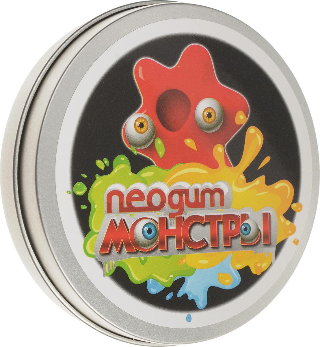 Neogum Пластилин Монстр цвет красныйNM0004Пластилин Neogum Монстр отличается невероятной пластичностью, может отпрыгивать от пола и растекаться по ровной поверхности. Пластилин не пачкается, не пристает к коже и предметам. В комплекте с пластилином идут пластиковые глазки, которые превратят продукт вашей фантазии в милого и совсем нестрашного монстрика! Игра с пластилином Neogum помогает снять раздражение и агрессию, развить мелкую моторику и творческое мышление, а также укрепить мышцы кистей. Кроме того, он может стать незаменимым спутником в утомительных переездах и перелетах, эффективно избавляя от чрезмерного беспокойства и нервозности.