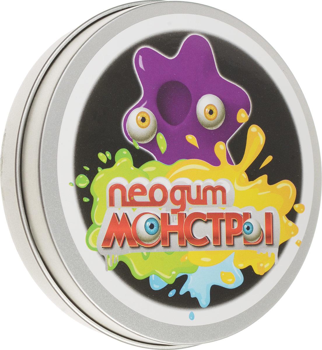Neogum Пластилин Монстр цвет фиолетовыйNM0002Пластилин Neogum Монстр отличается невероятной пластичностью, может отпрыгивать от пола и растекаться по ровной поверхности. Пластилин не пачкается, не пристает к коже и предметам. В комплекте с пластилином идут пластиковые глазки, которые превратят продукт вашей фантазии в милого и совсем нестрашного монстрика! Игра с пластилином Neogum помогает снять раздражение и агрессию, развить мелкую моторику и творческое мышление, а также укрепить мышцы кистей. Кроме того, он может стать незаменимым спутником в утомительных переездах и перелетах, эффективно избавляя от чрезмерного беспокойства и нервозности.
