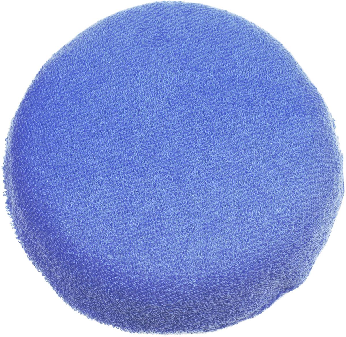 Наша мама Губка для купания Солнышко цвет голубой