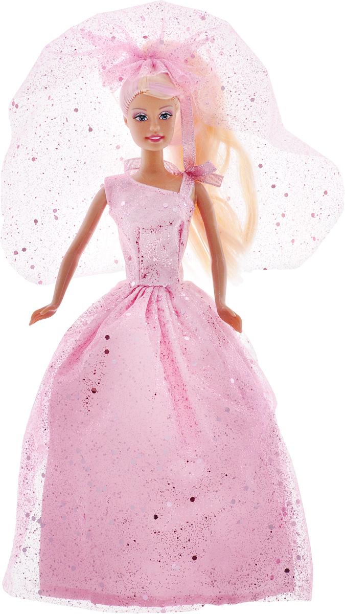 Defa Кукла Lucy в свадебном платье цвет розовый