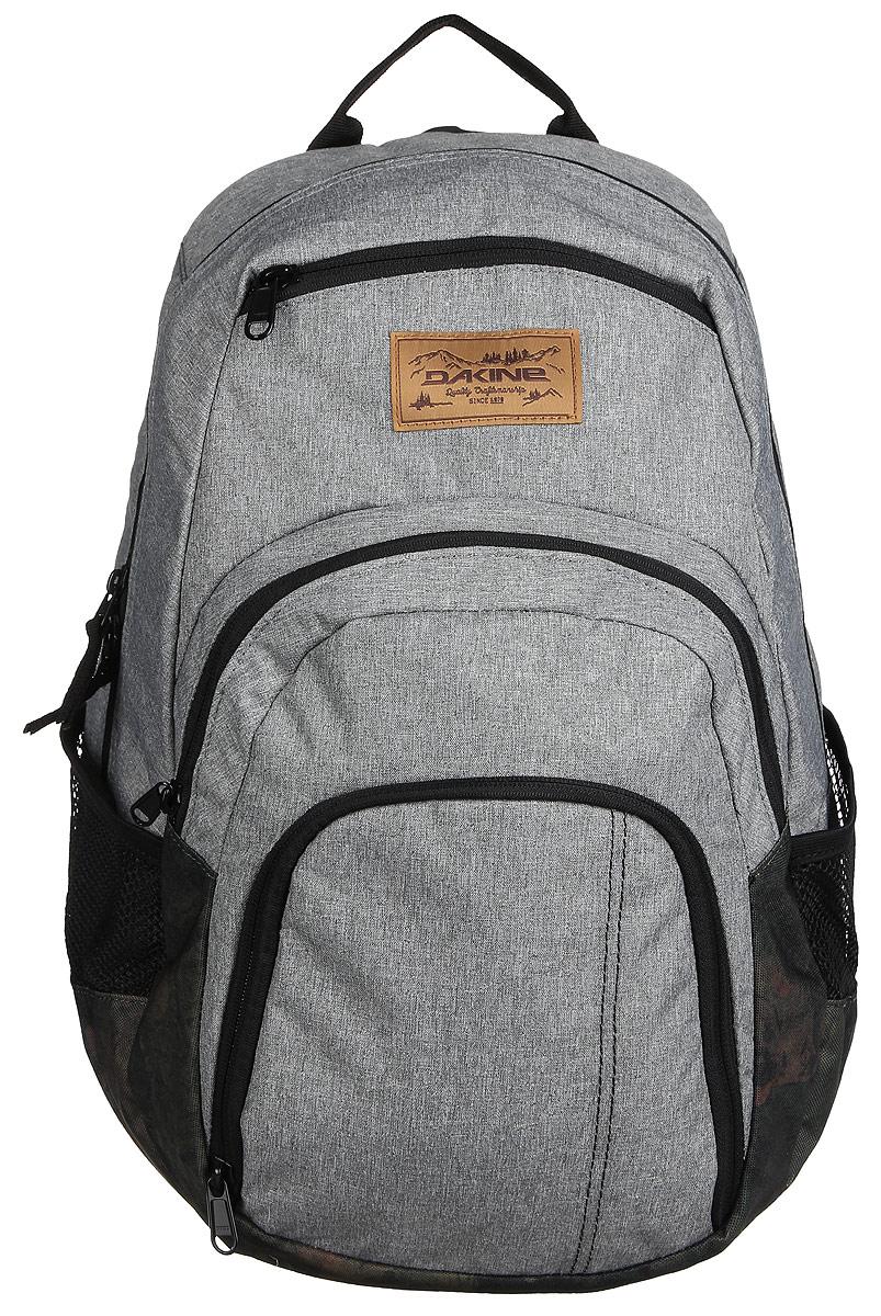 Рюкзак Dakine DK CAMPUS 33L GLISAN. 0813005700116680 08130057Городской рюкзак с отделением для ноутбука ( до 15). Карман-органайзер, карман-термос, карман-сетка снаружи. Карман для очков из мягкого флиса.