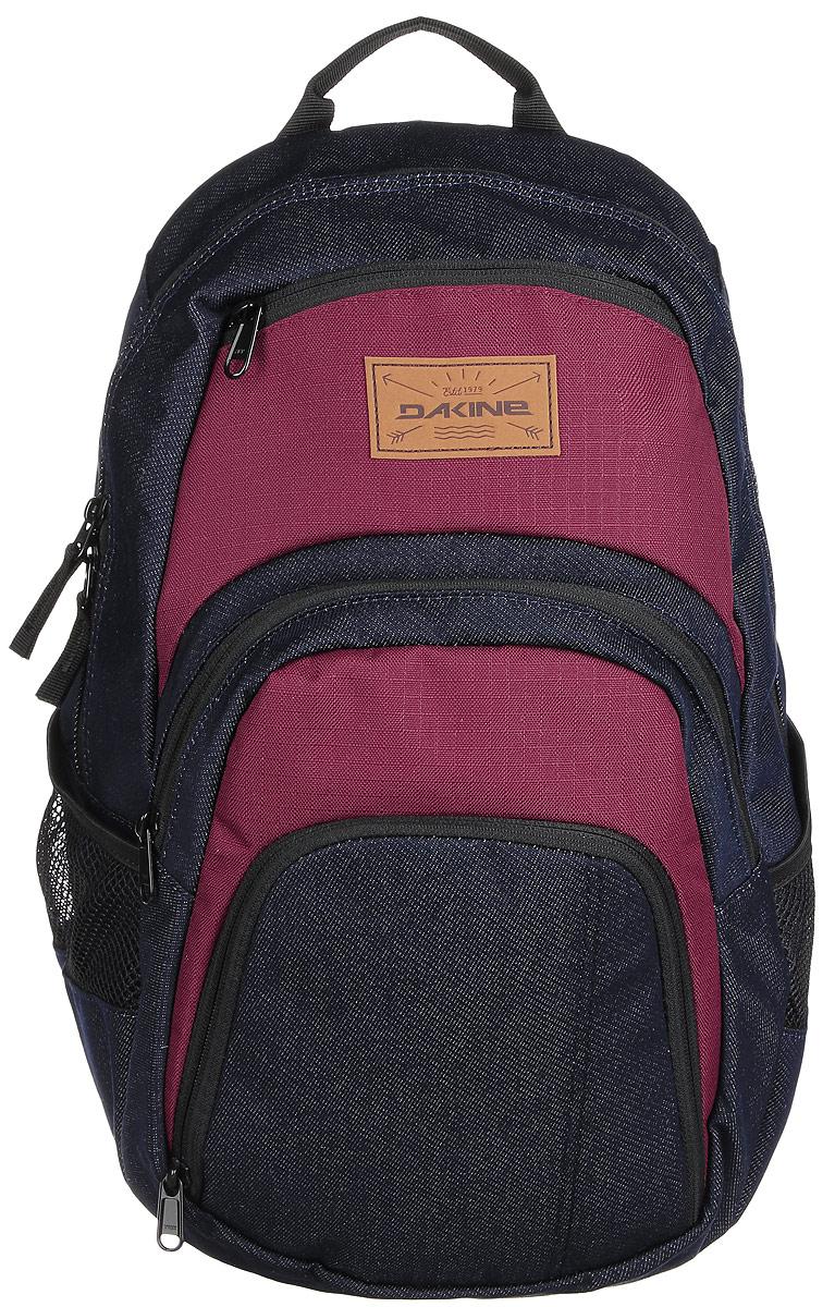 Рюкзак Dakine DK CAMPUS 25L DENIM. 813005600069199 8130056Городской рюкзак с отделением для ноутбука ( до 14). Карман-органайзер, карман-термос, карман-сетка снаружи. Карман для очков из мягкого флиса.