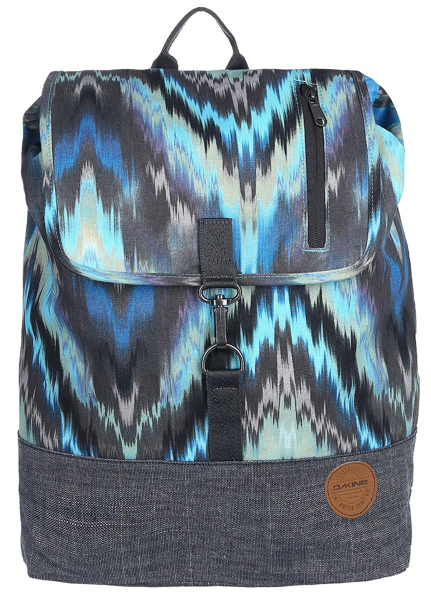 Рюкзак женский Dakine DK RYDER 24L ADONA. 1000034500117253 10000345Городской женский рюкзак с отделением для ноутбука ( до 15) Внутренний карман на молнии. Наружний карман на молнии.