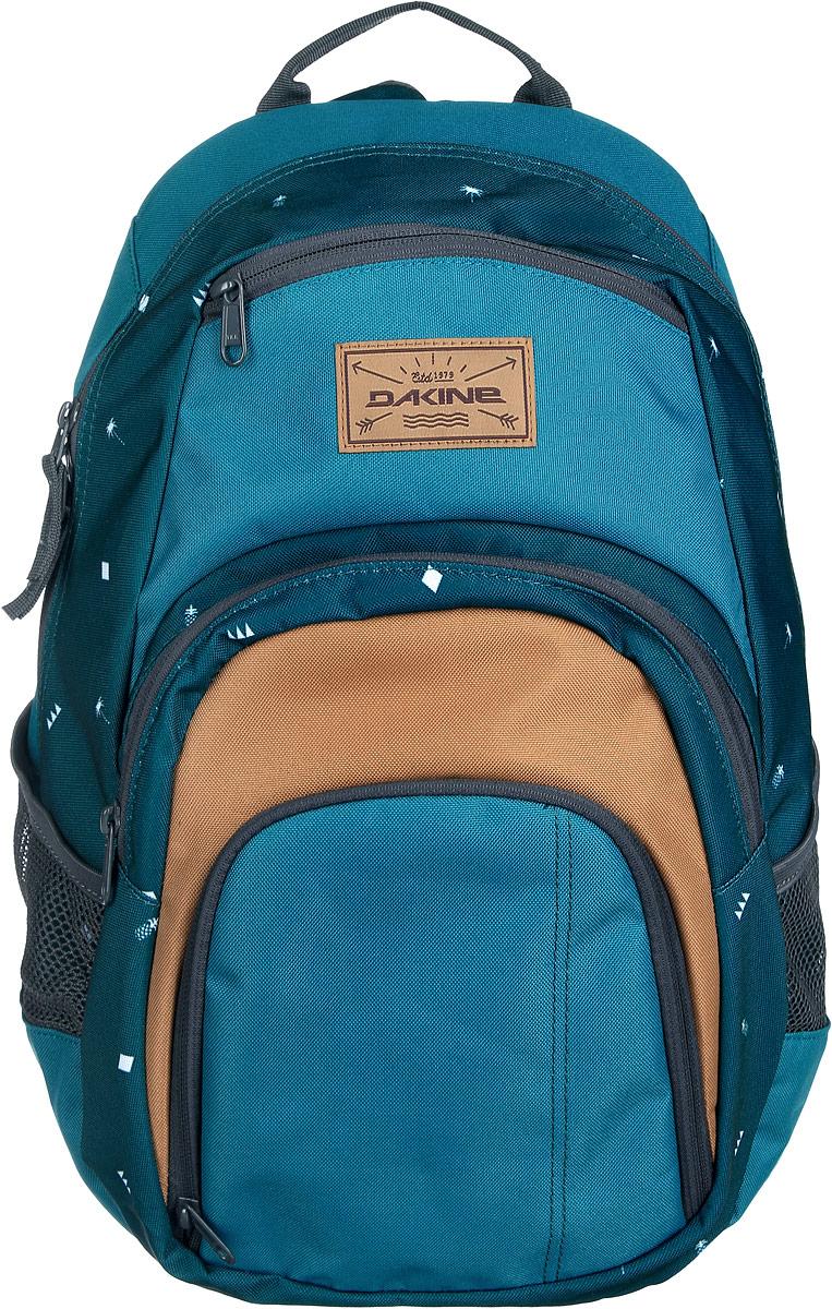 Рюкзак Dakine DK CAMPUS 25L PALMAPPLE. 0813005600116666 08130056Городской рюкзак с отделением для ноутбука ( до 14). Карман-органайзер, карман-термос, карман-сетка снаружи. Карман для очков из мягкого флиса.